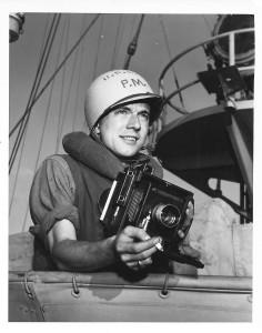 Dale Rooks on USCG Duane in 1944-45