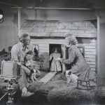 Dale and Sally Rooks on Set of Three Little Puppies